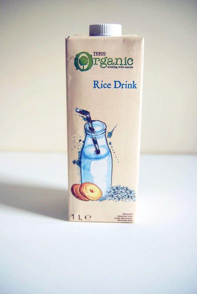 Mleko ryżowe organic z Tesco