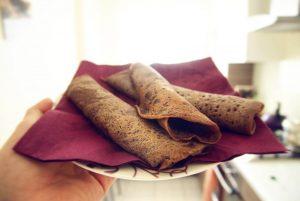 Naleśniki bezglutenowe z mąką teff