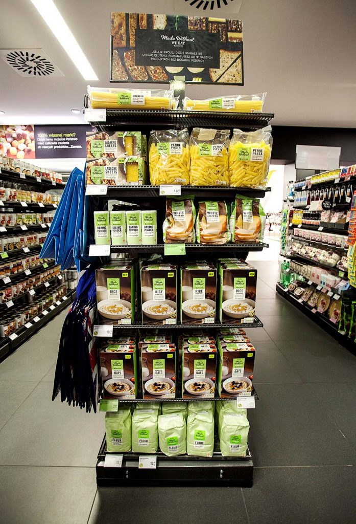 Produkty bezglutenowe w sklepie Marks&Spencer
