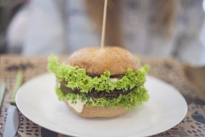 Wegański burger bezglutenowy