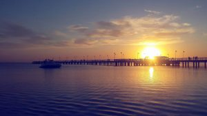 zachód słońca, naturalnego źródła witaminy d